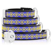 Cool Dog Club - Cool Dog K9 Striker MK2 Fleur De Lis Blue Dog Collar