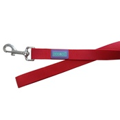Hem & Boo - Nylon Dog Lead - Red
