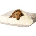 Snuggle Bed - Dotty Taupe 2