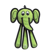 Tuff Enuff - Dangles Elephant Squeaky Dog Toy