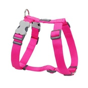 Red Dingo - Plain Dog Harness - Hot Pink