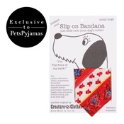 Creature Clothes - Multi Patterned Slip On Dog Bandana