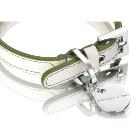 Polo Collar White/Green 2