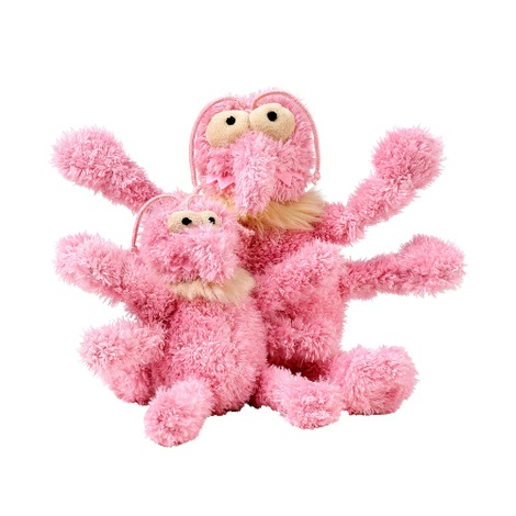 Scratchette the Flea Plush Dog Toy - Pink 2