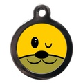 Wink Doggie Face Dog ID Tag