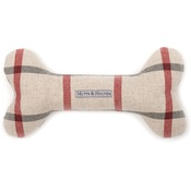 Mutts & Hounds - Nottingham Check Bone Toy
