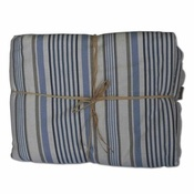 The Natural Pet Toy Company - Luxury Pet Blanket – Seaside Stripe