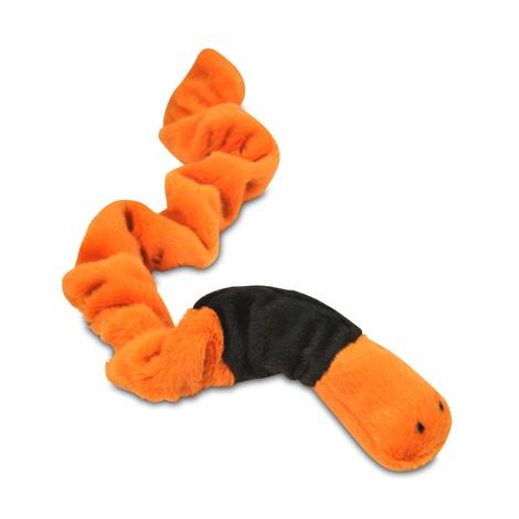 Erwin the Earthworm Plush Dog Toy