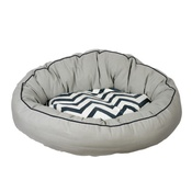 Pet Brands - Snoooz Comfort Donut Bed - Chevron