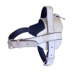 Colour Fusion Leather Harness – White