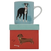 ZooHood - Dog Mug - Archie the Whippet