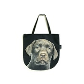 DekumDekum - Bino the Chocolate Labrador Puppy Dog Bag