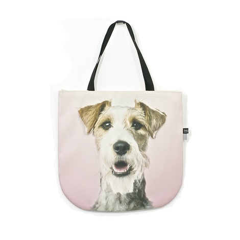 Elizabeth the Wire-haired Fox Terrier Dog Bag