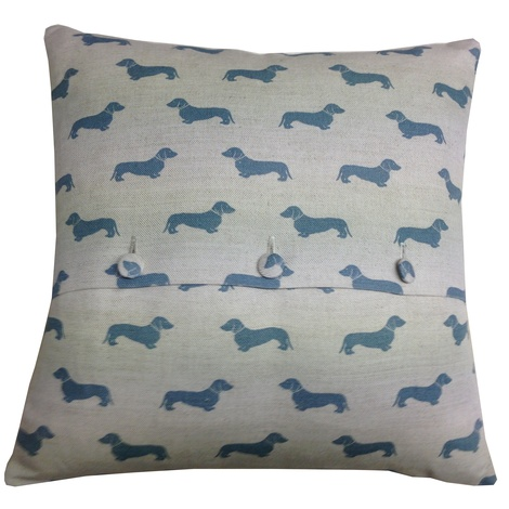 Blue Daxi Cushion