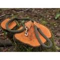 Rope lead (braided) - Khaki 3