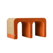 Catworks - Scratching Post - Letter M - Orange
