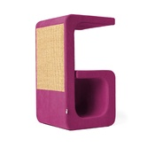 Catworks - Scratching Post - Letter G - Pink