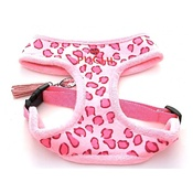 Puchi - Pink Leopard Print Pet Harness & Pet Lead