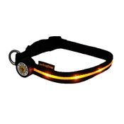 PetsGlow - Spotlight LED Dog Collar - Yellow