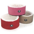Cool Cat Snuggle & Snooze Pet Cat Bed in Red 3