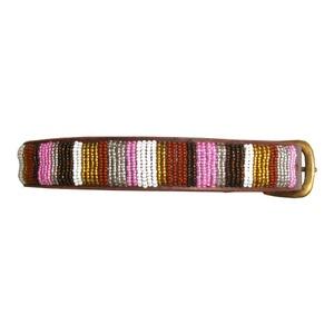Pink Beaded Collar