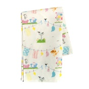 Free Spirit Designs - Wash Day Tea Towel