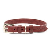 Mutts & Hounds - Grape Leather Dog Collar
