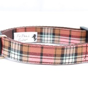 Pet Pooch Boutique - Mocha Barkberry Plaid Collar