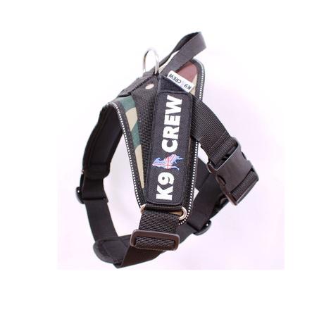 K9 CREW Camo Harness