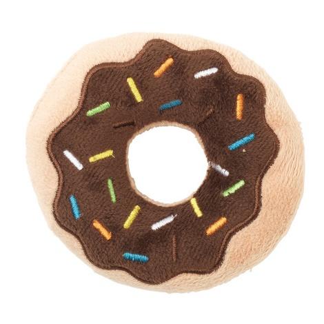 Plush Donut Dog Toy - 2 Pack 2