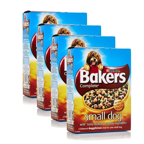 Small Dog Chicken Dry Dog Food x 4