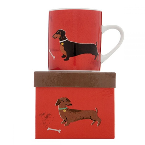 Dog Mug - Percy the Dachshund