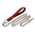 Colour Fusion Chain Dog Lead – Red