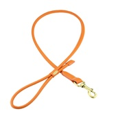 Clementine est. Dogs - Sitwell Tubular Dog Lead – Orange