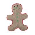 Christmas Gingerbread Man Dog Toy