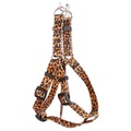 Leopard Skin Step-In Dog Harness