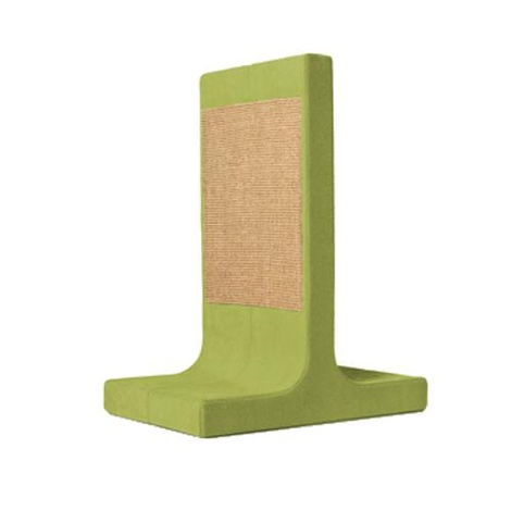 Scratching Post - Letter T - Green