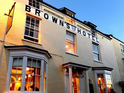Brown's Hotel, Carmarthenshire, Laugharne