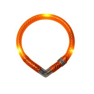 Leuchtie Mini LED Collar - Orange