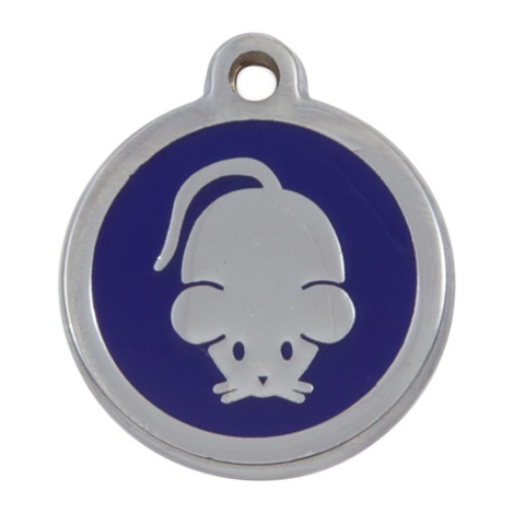 My Sweetie Blue Mouse Pet ID Tag