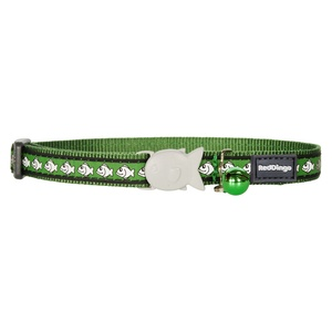 Green Reflective Cat Collar