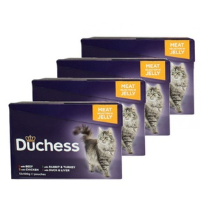 Duchess Meat Selection in Jelly Cat Food x 12