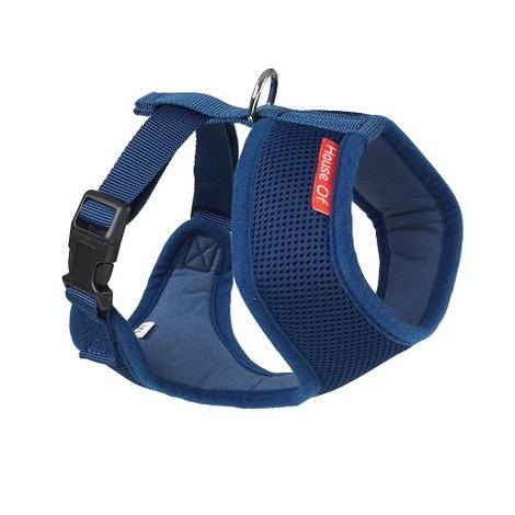 Memory Foam Harness - Blue