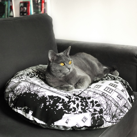 Cushion and Bed - Prästilden 3
