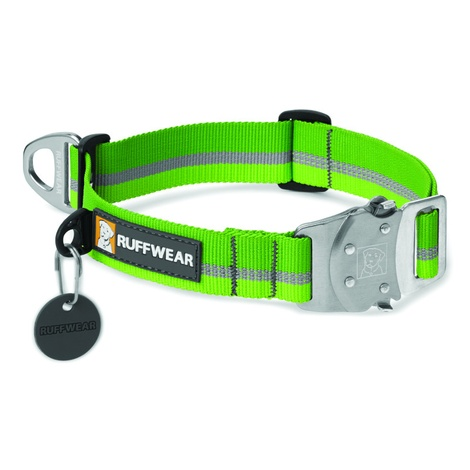 Top Rope Dog Collar - Meadow Green