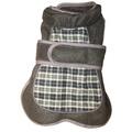 Go Walk Tweed Dog Coat – Blue Check
