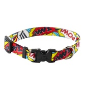 Yellow Dog - Comic Print Dog Collar