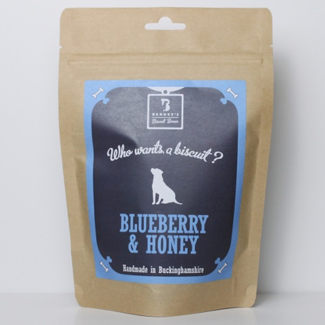Blueberry & Honey Dog Biscuit Treats 2