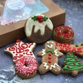 Christmas Doggy Cookies