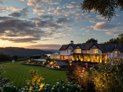 Linthwaite House Hotel, Lake District, Windermere